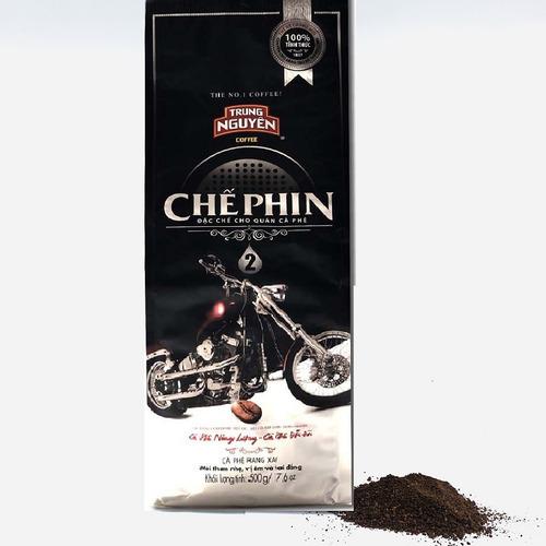 Cafe Trung Nguyên Chế Phin 2 (500g/Bịch) - Hình 1