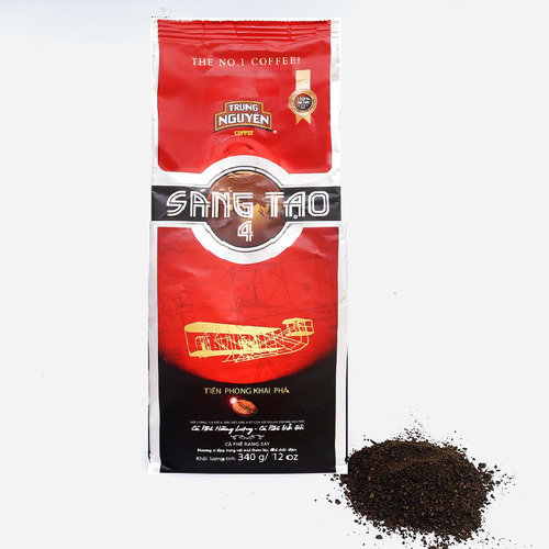 Cafe Trung Nguyên Sáng Tạo 4 (Bịch 340gam) - Hình 1