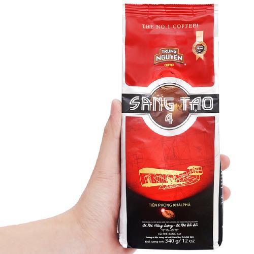 Cafe Trung Nguyên Sáng Tạo 4 (Bịch 340gam) - Hình 4