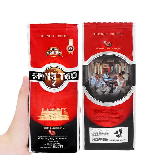 Cafe Trung Nguyên Sáng tạo 2( Bịch 340gam) - Hình 3