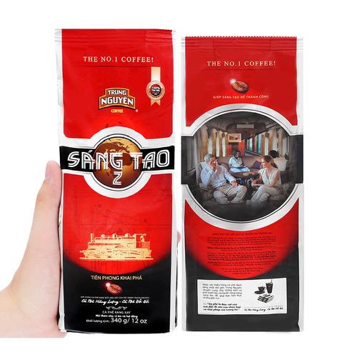 Cafe Trung Nguyên Sáng tạo 2( Bịch 340gam) - Hình 4
