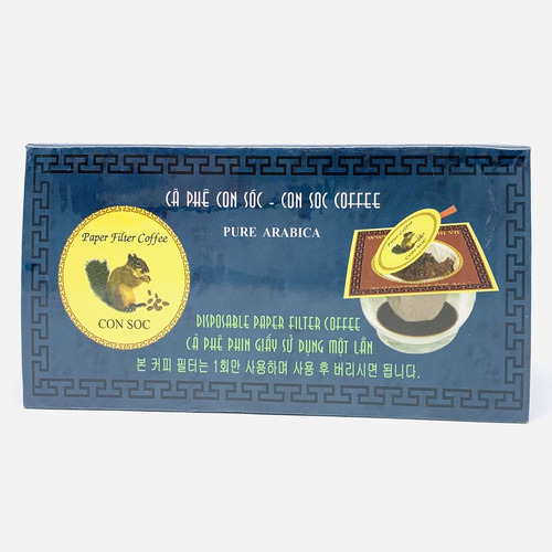 Cafe Con Sóc phin lọc Đơn Xanh( Hộp 10 phin lọc) - Hình 5
