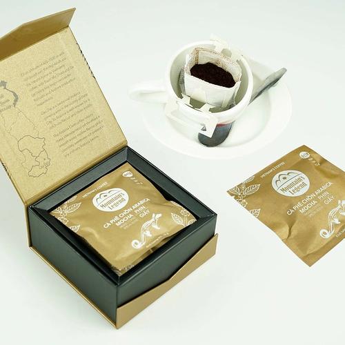 Cafe chồn túi lọc Arabica Mocha (Hộp 5 gói) - Hình 1