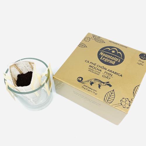 Cafe chồn túi lọc Arabica Mocha (Hộp 5 gói) - Hình 3