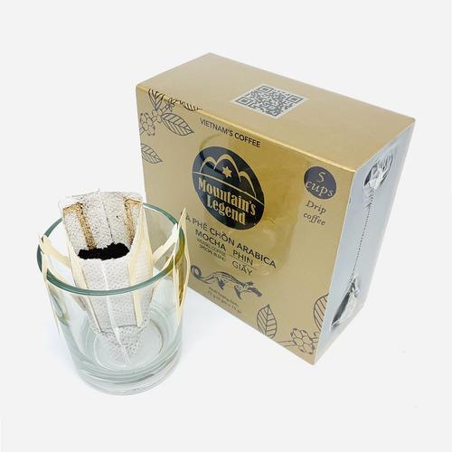 Cafe chồn túi lọc Arabica Mocha (Hộp 5 gói) - Hình 4