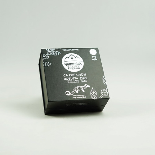 Cafe chồn túi lọc Robusta ( Hộp 5 gói) - Hình 3