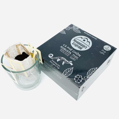 Cafe chồn túi lọc Robusta ( Hộp 5 gói) - Hình 2