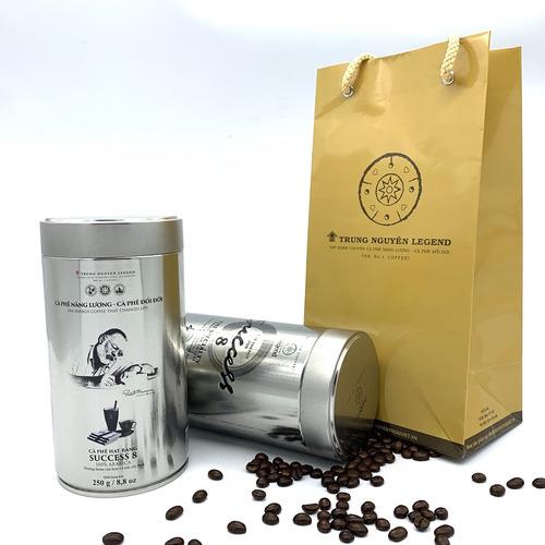 Cafe Hạt Trung Nguyên Success 8 - 250gam/Lon - Hình 5