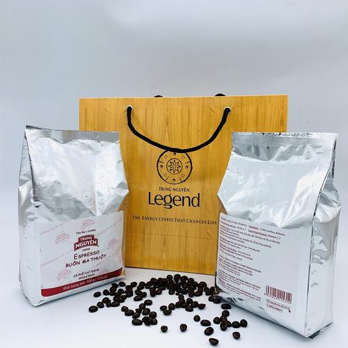 Cafe hạt Trung Nguyên Epresso (1 kg) - Hình 1