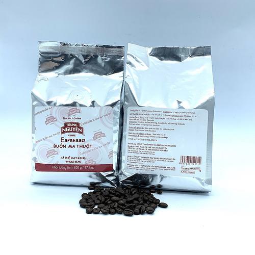Cafe hạt Trung Nguyên Epresso (1 kg) - Hình 2