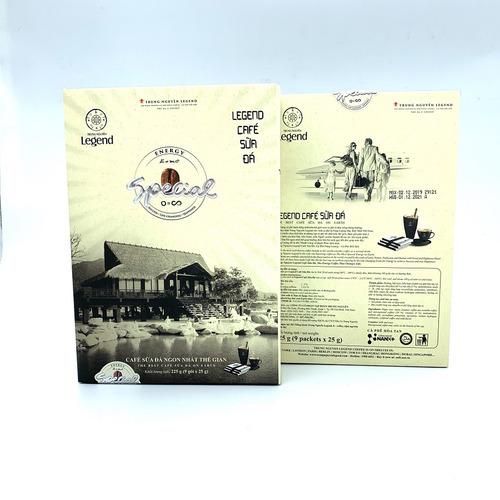 Cafe hòa tan Legend Sữa Đá Trung Nguyên Hộp 9 gói - Hình 2