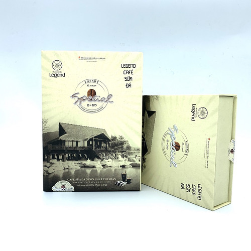 Cafe hòa tan Legend Sữa Đá Trung Nguyên Hộp 9 gói - Hình 1
