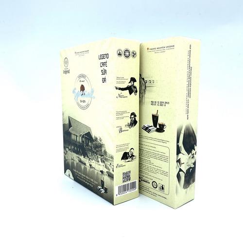 Cafe hòa tan Legend Sữa Đá Trung Nguyên Hộp 9 gói - Hình 3