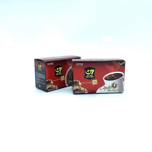 Cafe G7 hòa tan Đen Hộp 15 gói Thùng 24 Hộp - Hình 2