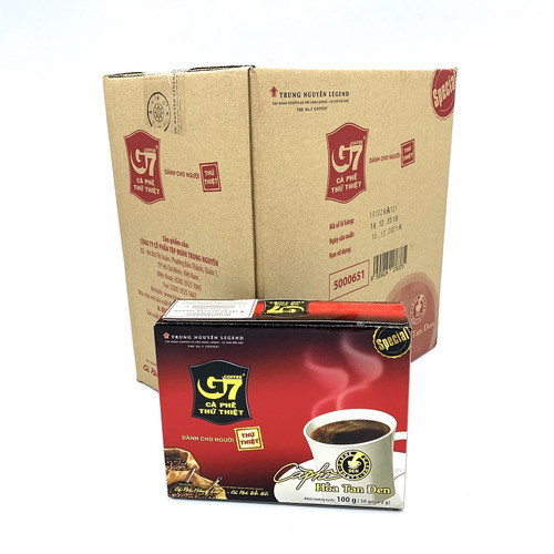 Cafe hòa tan G7 đen Hộp 50 gói (Thùng 10 Hộp) - Hình 5