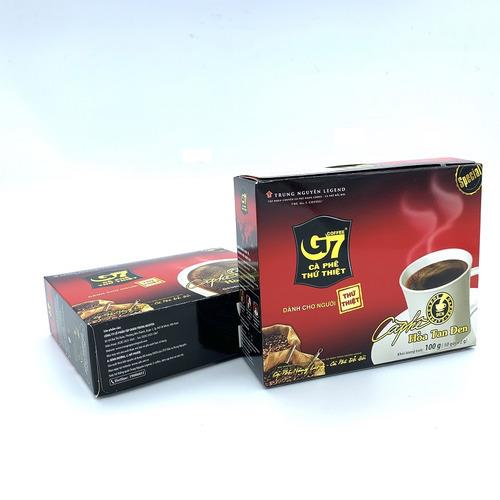 Cafe hòa tan G7 đen Hộp 50 gói (Thùng 10 Hộp) - Hình 2