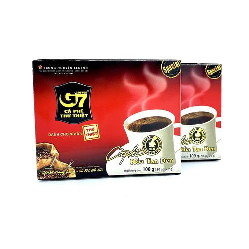Cafe hòa tan G7 đen Hộp 50 gói (Thùng 10 Hộp) - Hình 4
