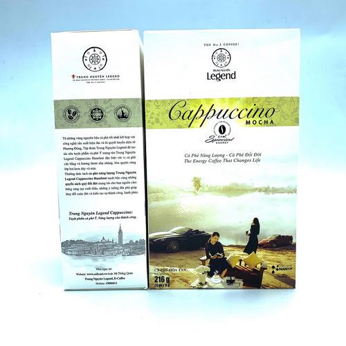 Cafe hòa tan Cappuccino Mocha Trung Nguyên Hộp 12gói - Hình 3