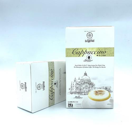 Cafe hòa tan Cappuccino Mocha Trung Nguyên Hộp 12gói - Hình 5
