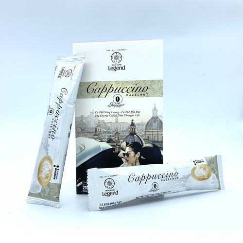 Cafe hòa tan Cappuccino Hazelnut Trung Nguyên Hộp 12gói - Hình 1