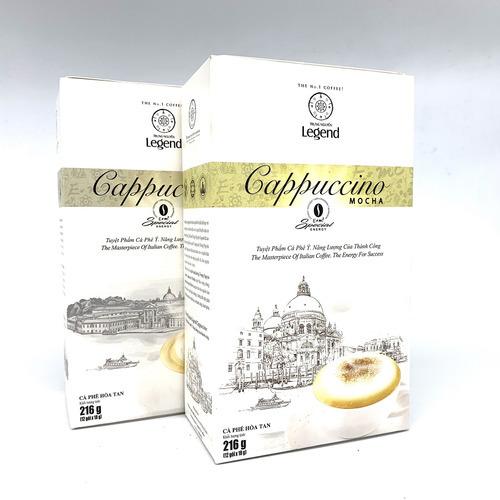 Cafe hòa tan Cappuccino Hazelnut Trung Nguyên Hộp 12gói - Hình 4