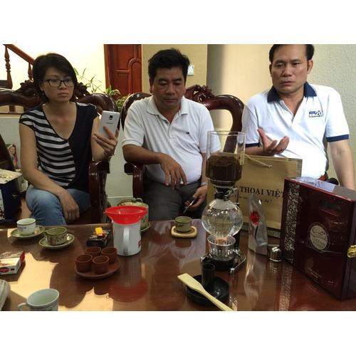 Bộ pha chế Cafe Cao Cấp Syphon Hario Nhật TCA2 - Hình 4