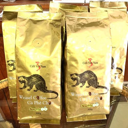 Cafe Chồn( Bột/Hạt ) Bịch 300gam - Hình 5