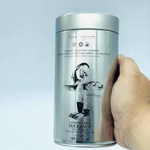 Cà phê hạt Trung Nguyên Legend Success 8 Mộc Lon 340gam - Hình 3