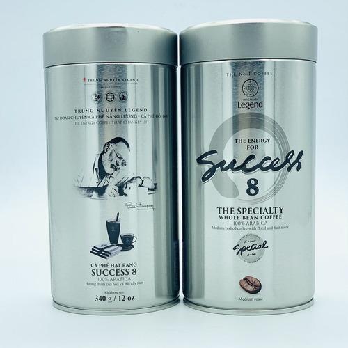 Cà phê hạt Trung Nguyên Legend Success 8 Mộc Lon 340gam - Hình 5