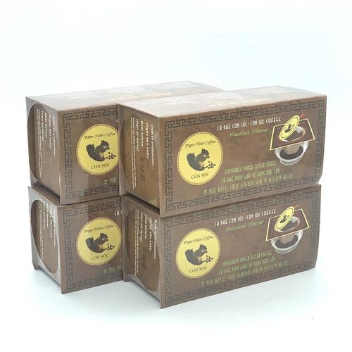 Combo 4 Hộp Cà phê Con sóc đơn Nâu( 4 Hộp x 10 gói/Hộp) - Hình 2