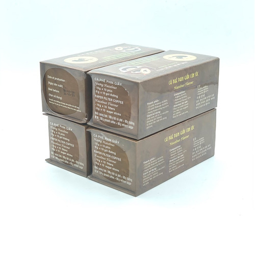 Combo 4 Hộp Cà phê Con sóc đơn Nâu( 4 Hộp x 10 gói/Hộp) - Hình 4