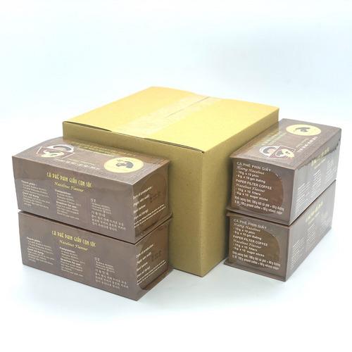 Combo 4 Hộp Cà phê Con sóc đơn Nâu( 4 Hộp x 10 gói/Hộp) - Hình 5