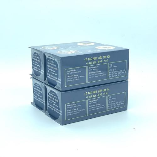 Combo 4 Hộp Cà phê Con sóc đơn Xanh( 4 Hộp x 10 gói/Hộp) - Hình 2