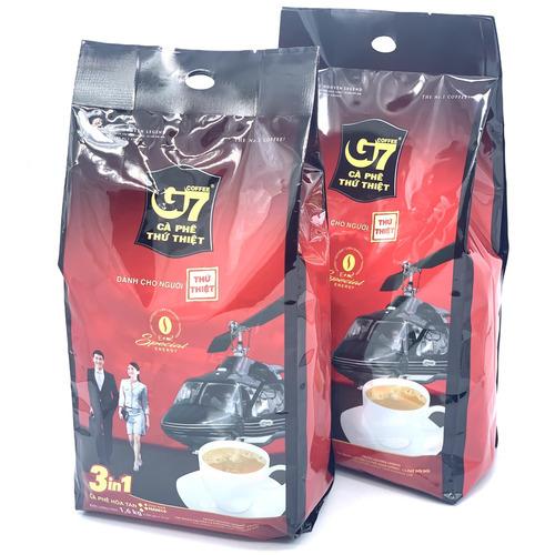 [COMBO 2 BỊCH] Cà Phê Sữa G7 3in1 Trung Nguyên ( Bịch 100 Gói x 16gam) - Hình 1
