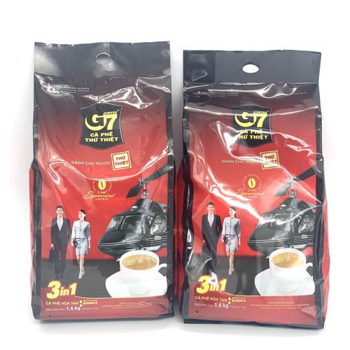 [COMBO 2 BỊCH] Cà Phê Sữa G7 3in1 Trung Nguyên ( Bịch 100 Gói x 16gam) - Hình 2