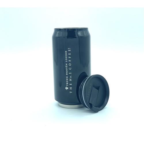 Bình giữ nhiệt cao cấp inox Trung Nguyên Legend - Bình Màu Đen (350ml) - Hình 3