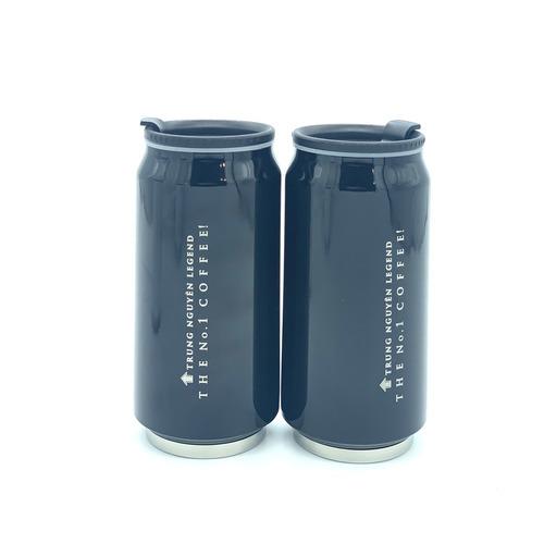 Bình giữ nhiệt cao cấp inox Trung Nguyên Legend - Bình Màu Đen (350ml) - Hình 4