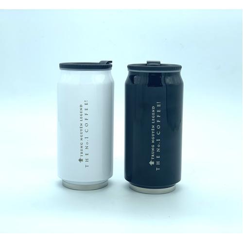 Bình giữ nhiệt cao cấp inox Trung Nguyên Legend - Bình Màu Đen (350ml) - Hình 5