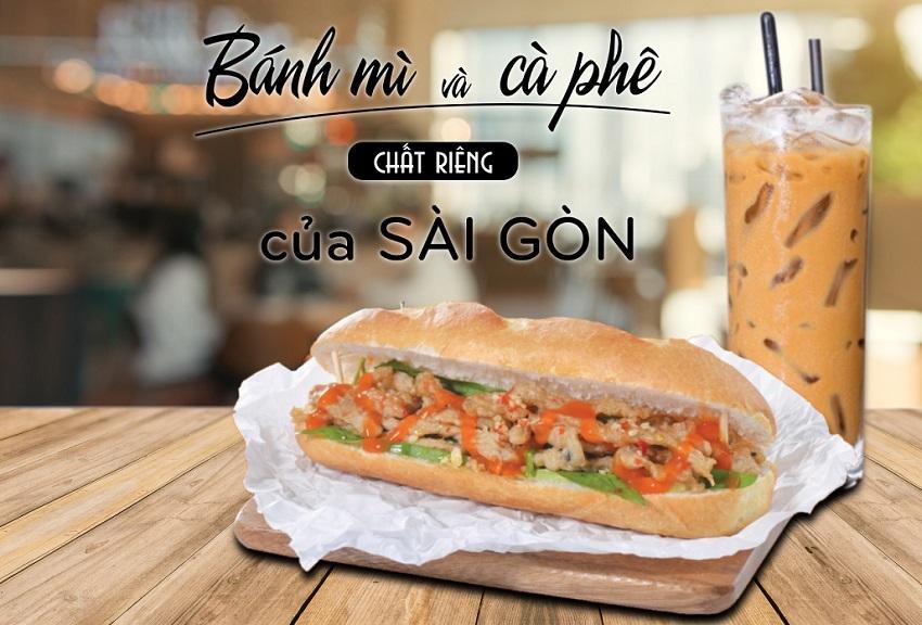 Bữa sáng người Sài Gòn: Cà phê - Bánh Mỳ!