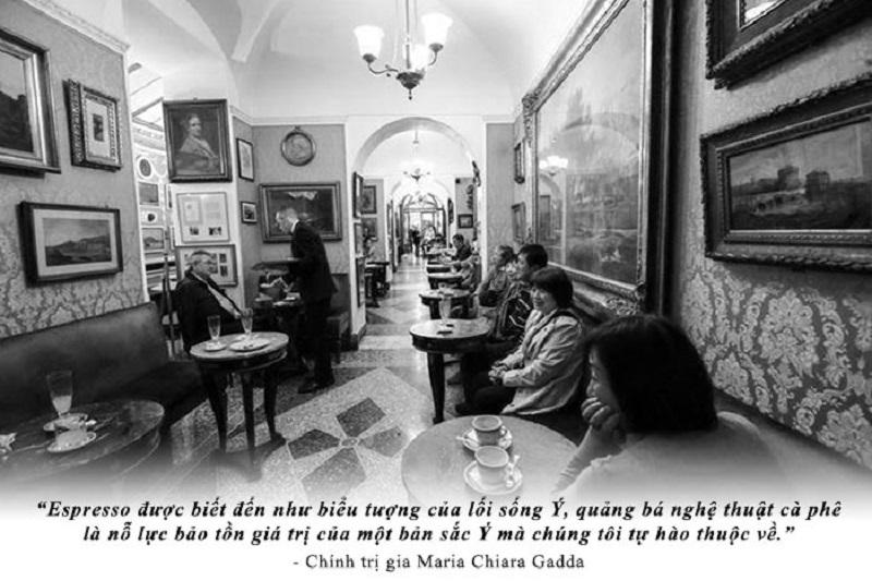 Cà phê - Giấc mơ Ý và Nhận thức người Việt