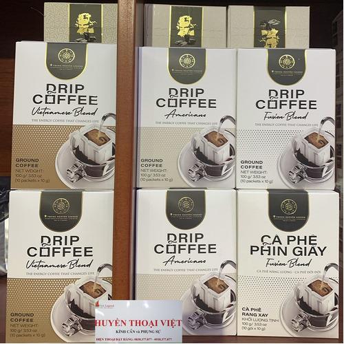 Cà phê phin giấy Trung Nguyên Vietnamese Blend( Hộp 10 Phin) - Hình 5