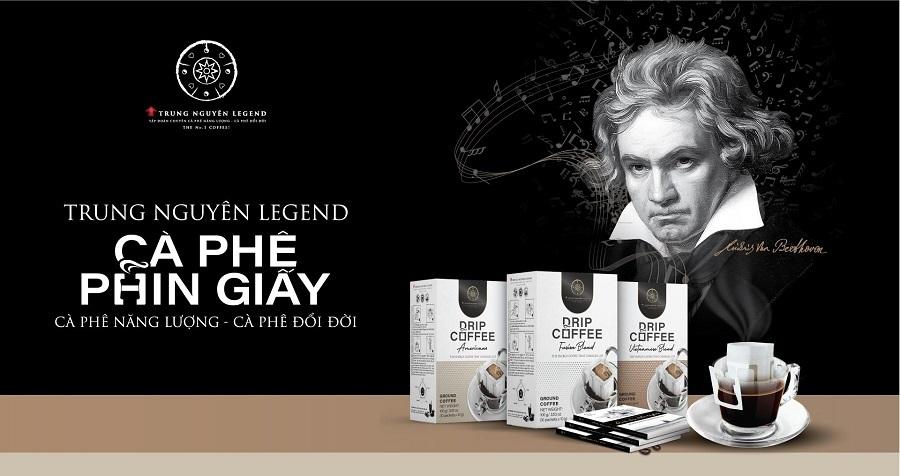 Cà phê phin giấy Trung Nguyên Legend