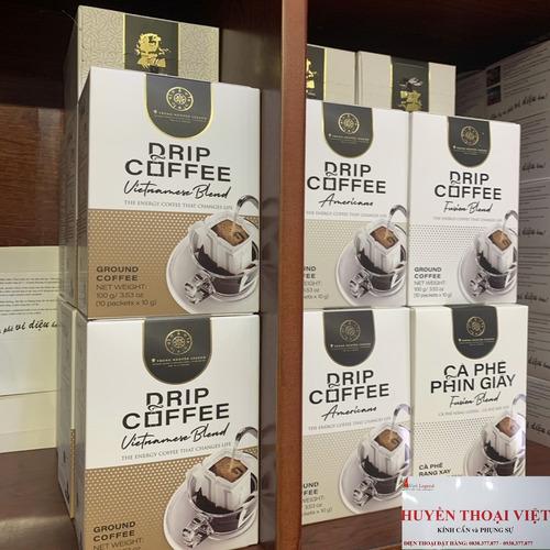 Cà phê Phin Giấy Trung Nguyên Americano( Hộp 10 Phin) - Hình 4