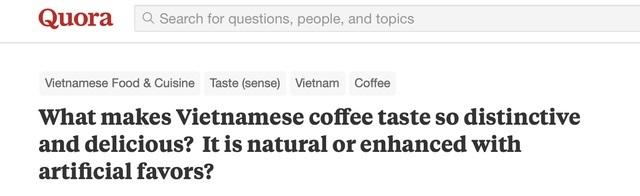 Cà phê Việt Nam sẽ thay đổi cuộc đời bạn