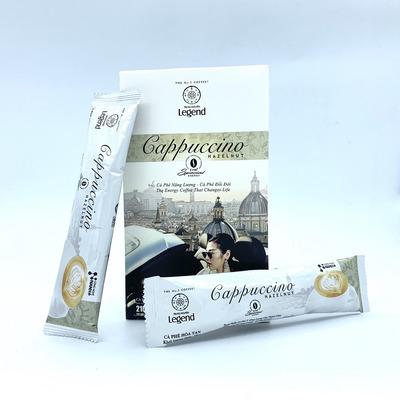 Cafe hòa tan Cappuccino Hazelnut Trung Nguyên Hộp 12gói