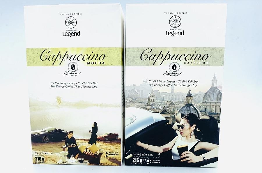 Cafe Cappuccino Hazelnut Trung Nguyên