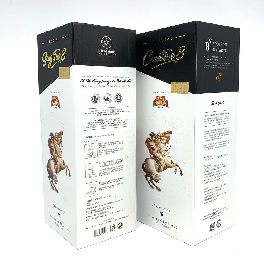 Cà phê Trung Nguyên Sáng tạo 8 ( Hộp 500gam)