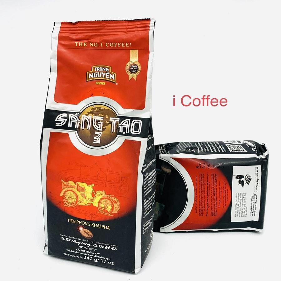 Cafe Trung Nguyên sáng tạo 3 bịch 340gam