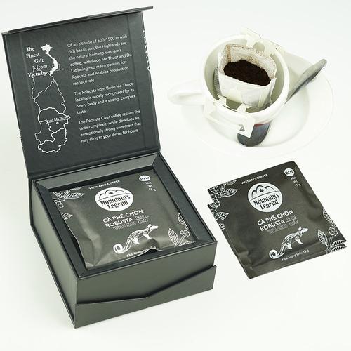 Cafe chồn túi lọc Robusta ( Hộp 5 gói) - Hình 1