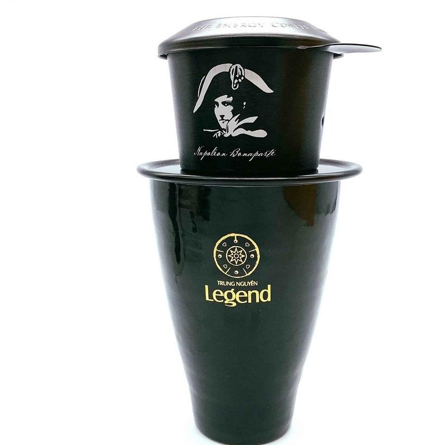 Combo Phin Ly đen bóng Legend Trung Nguyên
